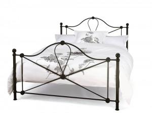 Lyon Black Double Bed Frame
