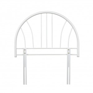 Annabelle White Single Headboard