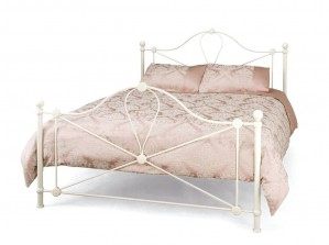 Lyon Ivory Double Bed Frame