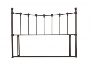 Marseilles Black Double Headboard