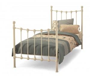 Marseilles Ivory Single Bed Frame