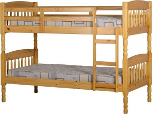 Albany Antique Pine Bunk Bed