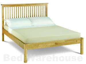 Bentley Designs Atlantis Natural Low Foot Kingsize Bed Frame