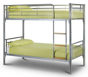 Absolute Silver Bunk Bed