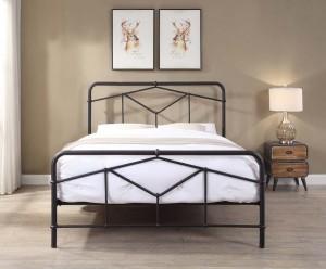 Acton Black Bed Frame