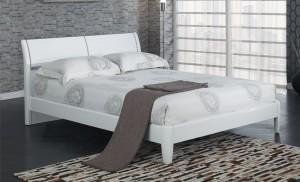 Aztec White Kingsize Bed Frame