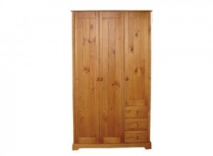 Baltic 3 Door 3 Drawer Robe
