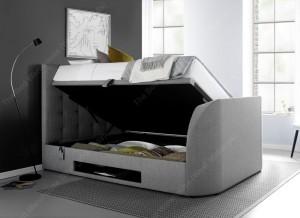Barney Grey TV Bed Frame