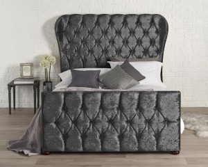 Bryson Black Bed Frame