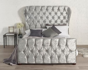 Bryson Silver Bed Frame