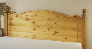 Boston Single Pine Headboard