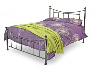 Bristol Black Three Quarter Bed Frame