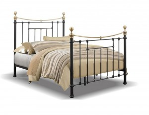Bronte Black Double Bed Frame