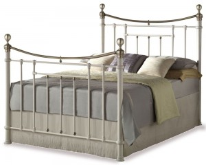 Bronte Cream Kingsize Bed Frame