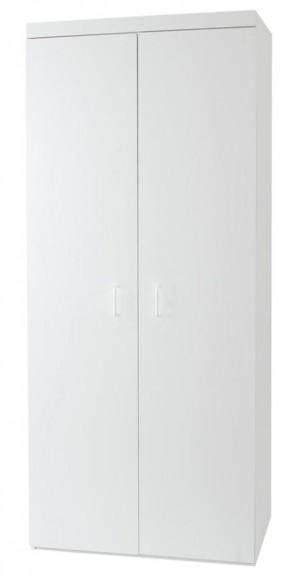 Budget White 2 Door Robe