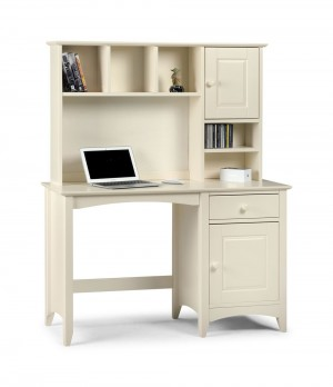 Cammy Desk With Hutch Top