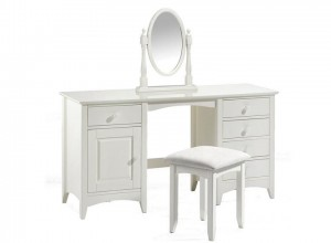 Cammy Dressing Table Stool & Mirror