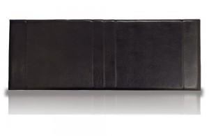 Carmela Black Three Quarter Headboard