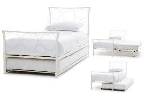 Chloe Ivory Guest Bed Frame