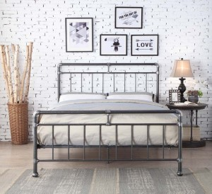 Kilcain Black Bed Frame