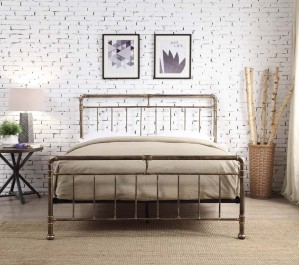 Kilcain Bronze Bed Frame