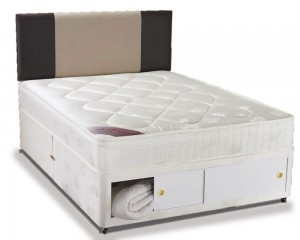 Club Harmony Double End Slidestore Divan Bed
