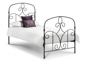 Corsico Black Single Bed Frame