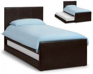 Cosmo Brown Guest Bed Frame