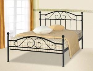 Sussex Black Kingsize Bed Frame