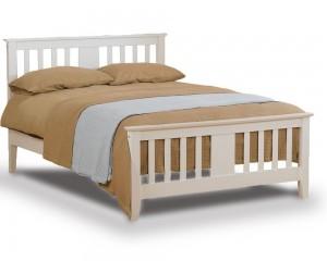 Eagle White Three Quarter Bed Frame