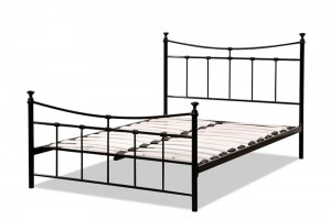 Emily Black Three Quarter Bed Frame