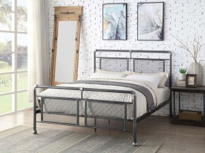 Hopper Steel Bed Frame