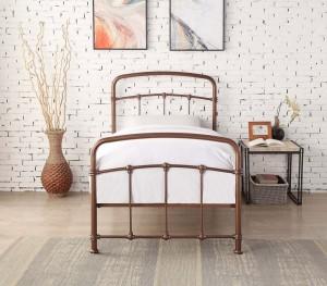 Bostin Rose Gold Bed Frame