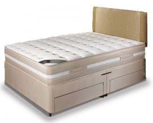 Georgia XDeep Three Quarter 2 Drawer Divan Bed