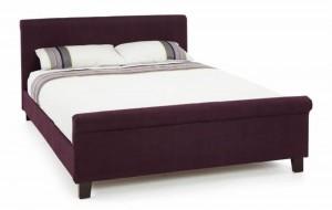 Hansel Plum Super Kingsize Bed Frame