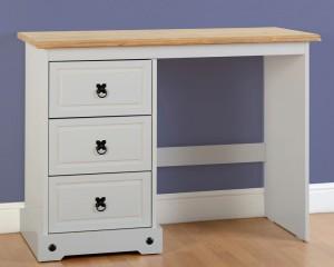 Corona Grey 3 Drawer Dressing Table