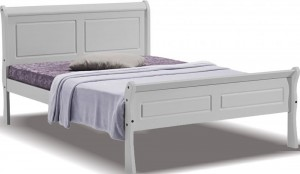 Georgina Grey Bed Frame