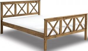 Salvation Rustic Pine Bed Frame