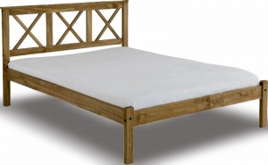 Salvation Rustic Pine Bed Frame