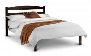 Jade Wenge Double Bed Frame