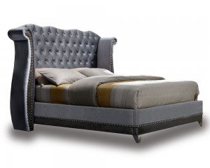 Grey Jasper Bed Frame