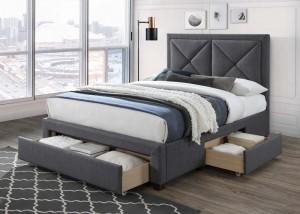Suzanne Three Drawer Bed Frame