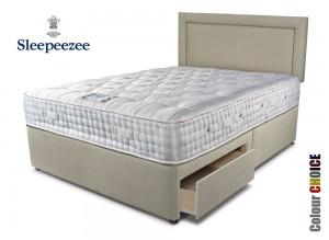 Sleepeezee Kensington 2500 Double Divan Bed