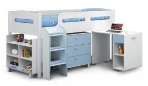 Kimbo Cabin Bed In Blue