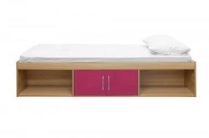 Daytona Pink Storage Bed