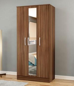 Links 3 Door Mirror Wardrobe