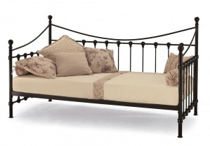Marseilles Black Day Bed Frame
