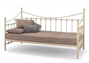 Marseilles Ivory Day Bed With Visitor Frame
