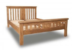Melrose Country Oak Bed Frame
