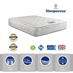 Sleepeezee Memory Comfort 1000 Three Quarter Mattress